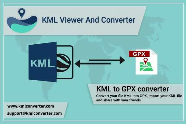 KML to GPX converter