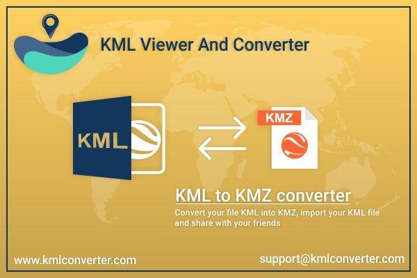 KML to KMZ converter