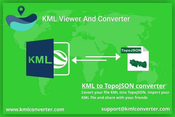 KML to TopoJSON converter